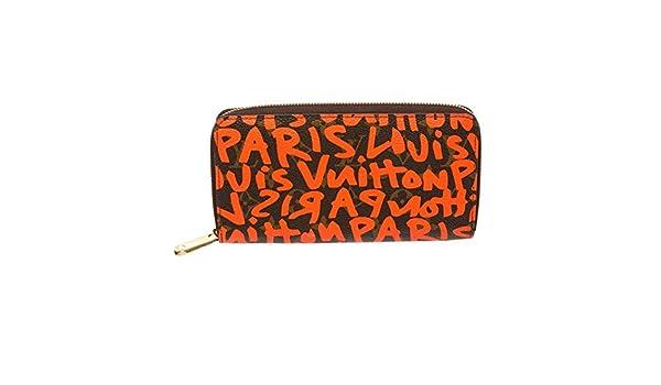 Louis Vuitton - Bolso mochila para mujer Brown Monogram with Orange Graffiti: Amazon.es: Equipaje