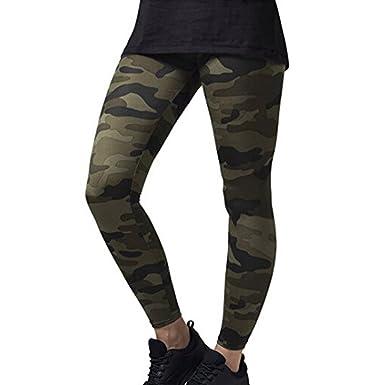 Yying Camouflage Motif Sport Leggings Imprimé Yoga Pantalon Taille  Élastique Courir Fitness Gym Sportwear  Amazon.fr  Vêtements et accessoires 4489aa0b039