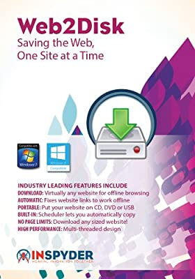 Inspyder Web2Disk 4 [Download]
