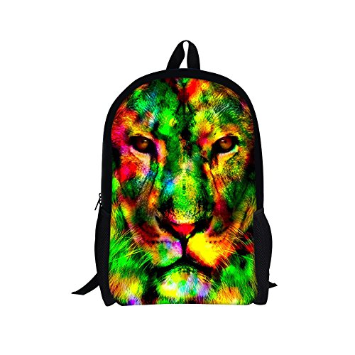 TOREEP Galaxy Print Casual School Backpack Outdoor Travel - Malls Beach Virginia