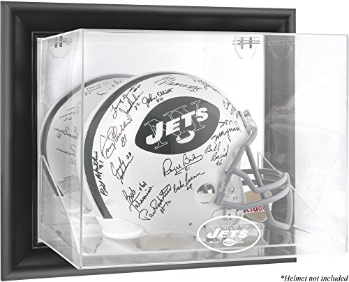 Mounted Memories New York Jets Wall Mounted Helmet Display - New York Jets One Size by Mounted Memories