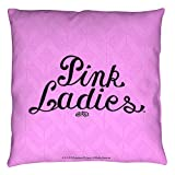 Grease 1978 Teen Romantic Comedy Musical Movie Pink Ladies Throw Pillow