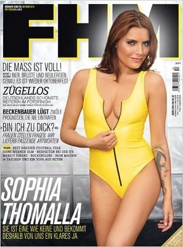 Fhm 102010 Sophia Thomalla Amazonde Fhm Bücher