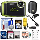 Fujifilm FinePix XP130 Shock & Waterproof Wi-Fi Digital Camera (Lime) with 32GB Card + Battery + Cases + Float Strap + Selfie Stick + Kit Review