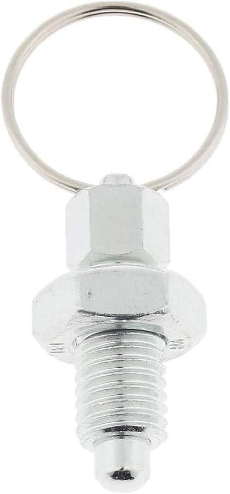 POFET 5 piezas de /émbolo de indexaci/ón sin bloqueo con anillo de extracci/ón M8