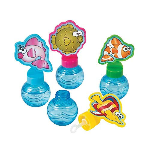 (Tropical Fish Bubble Bottles - Vacation Bible School & Luau)