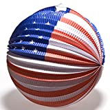 Patriotic Balloon Lanterns