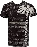 """Royalty"" Dragon Short Sleeve Crew Neck Cotton Mens Fashion T-Shirt ( 2 Colors )"