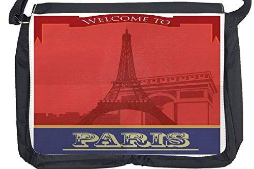 Borsa Tracolla Viaggi Cucina Parigi Stampato