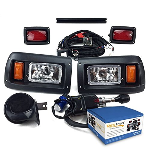 NEW RecPro CLUB CAR DS GOLF CART DELUXE STREET LEGAL HALOGEN