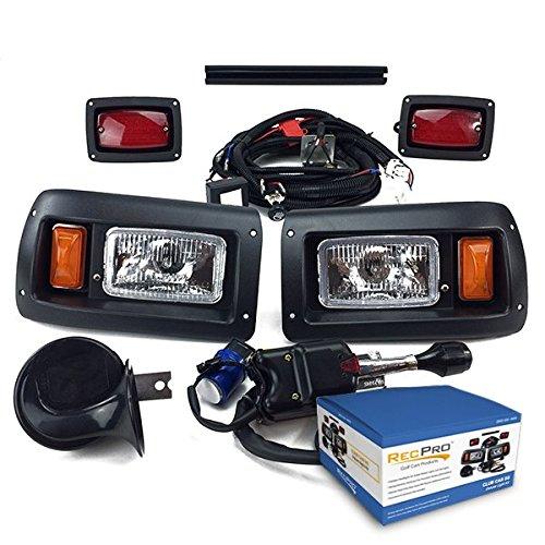 - NEW RecPro CLUB CAR DS GOLF CART DELUXE STREET LEGAL HALOGEN Light Kit 1993-UP