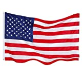 Cheap NioeHome American Flag 3×5 US Flags. Embroidered Stars and Stripes