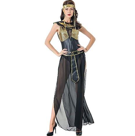 SHANGLY Halloween Mujer Vestido Romano Sexy Diosa Griega ...
