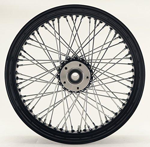 Ultima Black 60 Spoke Front Wheel, 21