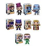 the freeze vinyl - Pop! Heroes: Batman Classic TV The Riddler, The Penguin, Mr Freeze, Batgirl, King Tut Vinyl Figures Set of 5
