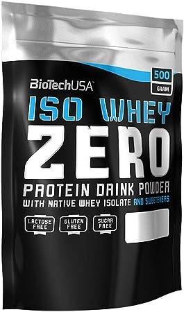 BioTech IsoWhey Zero Proteínas de Suero de Leche, Sabor Piña Colada - 500 gr