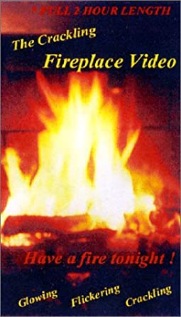 Amazon Com Crackling Fireplace Video Vhs Daniel Vallee Movies Tv