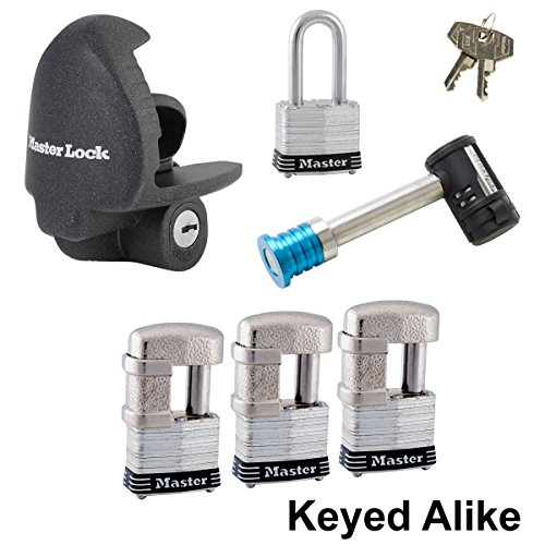 Master Lock - 6 Trailer Locks Keyed Alike 6KA-37937-3
