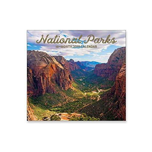 16 Month Wall Calendar 2019: National Parks - Each Month Displays Full-Color Photograph. September 2018 to December 2019 Planning Calendar