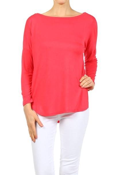4e662ecbc1 Ginger G Women s Long Sleeve Top at Amazon Women s Clothing store