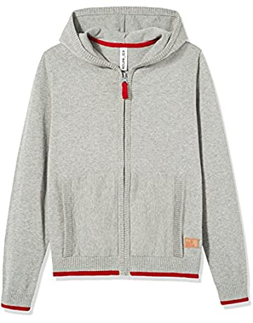 dda51fb20986 Kid Nation Kids  Long Sleeve Sweater Cotton Casual Hoodie Zip Cardigan with  Pocket for Boys