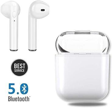 Auricular Bluetooth i8 inalámbrico con Auriculares de Carga Mini ...