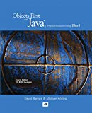Objects First With Java: A Practical Introduction Using BlueJ (4th Edition)