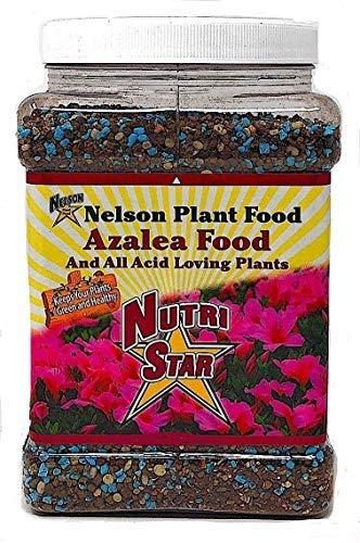 Nelson Acid Loving Plant Food Huge Blooms For Azalea Jasmines Roses Camellias Gardenias NutriStar 9-13-11 (2 LB)