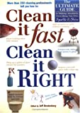 Clean It Fast, Clean It Right, Jeff Bredenberg, 1579540198