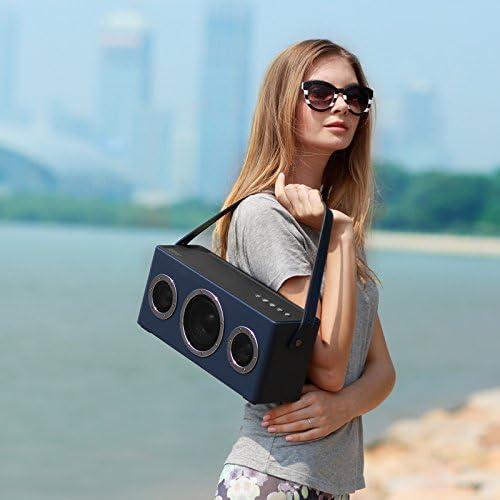 AirPlay MFi Certified SpeakerWireless Speaker GGMM WiFi Bluetooth Speaker for Streaming Music