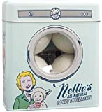 Nellie's All Natural Lamby Dryerballs - Made with 100% Pure New Zealand Wool - Use to Soften All Types of Fabrics - Silent in your Dryer & Long Lasting Use