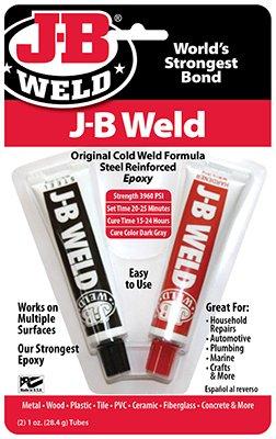 J-B Weld 8265-S Cold Weld Compound,2-oz.