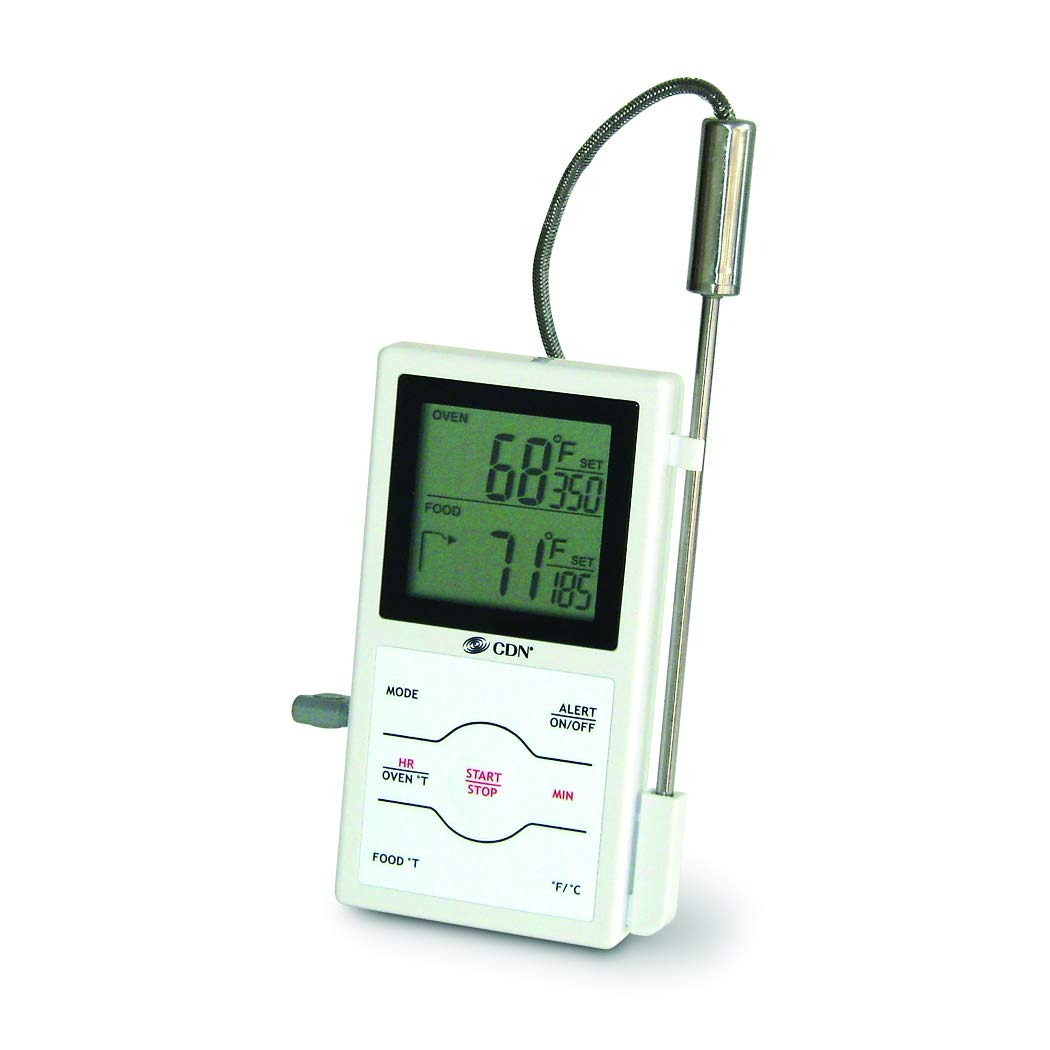 CDN DSP1 Dual Sensing Programmable Probe Thermometer and Timer by CDN