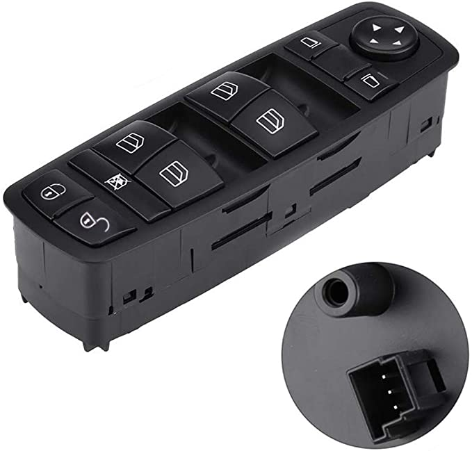 SKAD 2 Set 2012; Mercedes B Class W245 2005-2011 Window Switch Button Cover Front Left Door Driver Side For Mercedes A Class W169 2004 4 Pieces