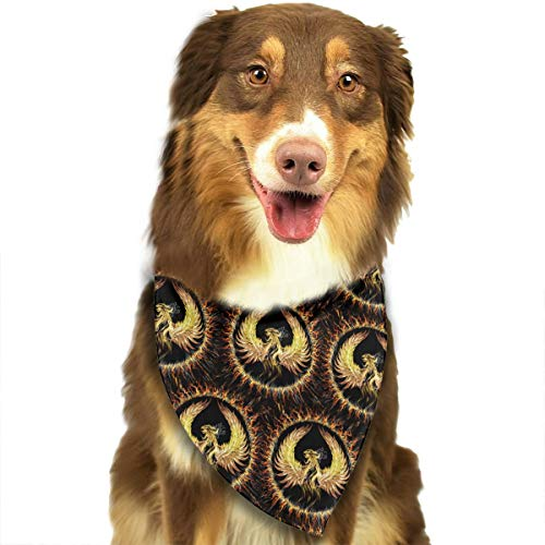 FRTSFLEE Dog Bandana Firebird Scarves Accessories Decoration for Pet Cats and Puppies -