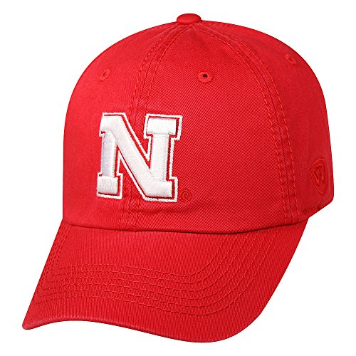 Nebraska Fan (Nebraska Cornhuskers Hat Icon Scarlet - Scarlet Red)
