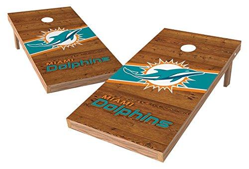 PROLINE NFL Miami Dolphins 2'x4' Cornhole Board Set - Logo Design