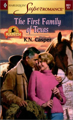 book cover of The First Family of Texas
