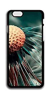 Custom made Case/Cover/ iphone 6 cases for girls protective - Black and white dandelion