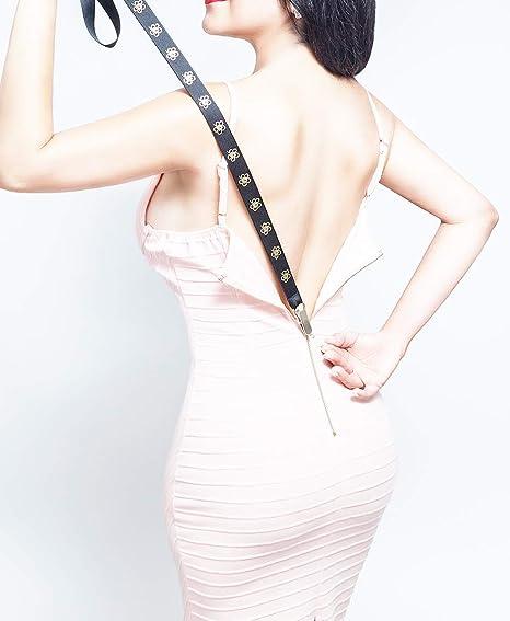 Zip up dress by yourself Unique Patent Pending Design Works on Virtually All Zipper Types Zipper Assistant Zipper Puller Zipuller Zipper helper New Design - Pink - Zip up Dresses and Boots