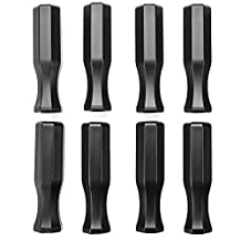 Brybelly Octagonal Handles for Standard Foosball Tables (8 Pack)