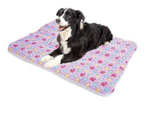 Costumes Animal Csi (Seven One Pet Supplies Thick Warm Cushion Soft Fleece Pet Dog Sleep Mat Animal Bedding Bed Pet Mats Beds Mat For Cat Dog(Random)