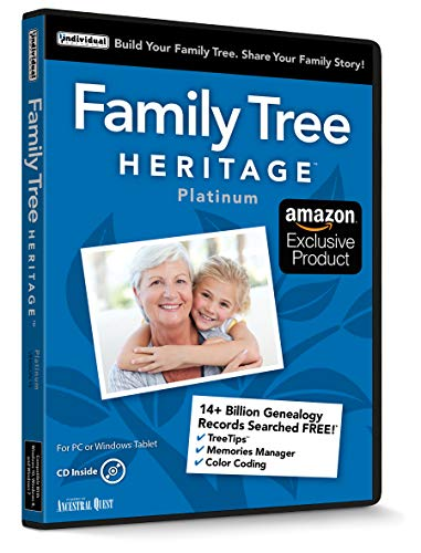 Family Tree Heritage Platinum (Windows 7 Family)