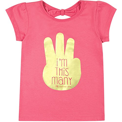 3rd Birthday Shirt by Fayfaire Boutique | Third Birthday Girl Im This Many 3T
