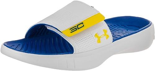 Under Armour Mens Curry IV Slide Sandal