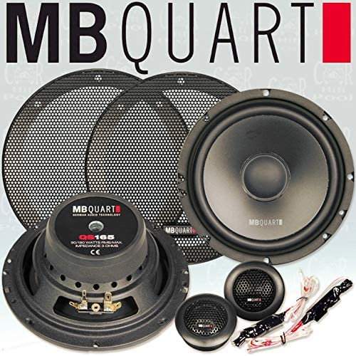 Mb Quart Qs165 2 Wege Komponenten Hochtöner Mitteltöner 17 Cm Audio Hifi