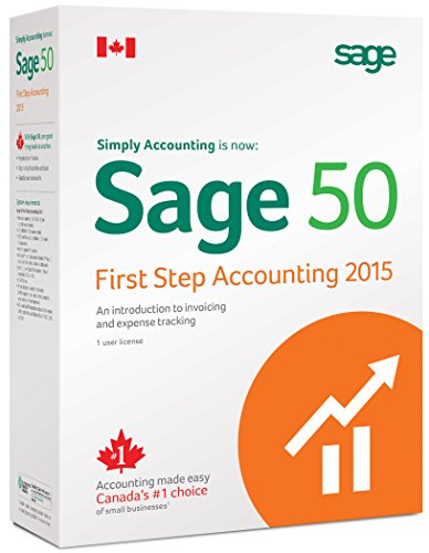 Sage 50 First Step Accounting 2015 Canadian Edition