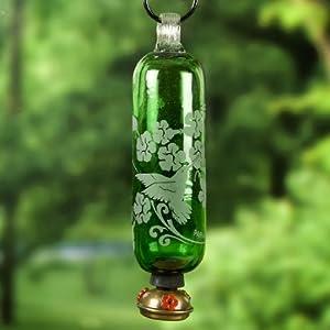 Parasol FILHG Filigree Hummingbird Feeder Green