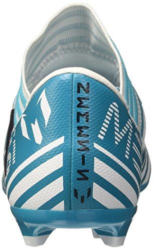 adidas Jungen Nemeziz Messi 17.3 FG J Fußballschuhe Mehrfarbig (Ftwr White/legend Ink /energy Blue )