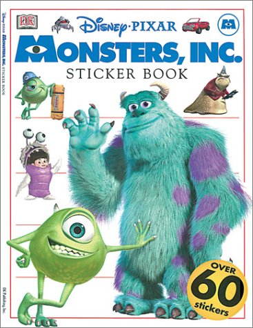 Disney Pixar Monsters Inc Sticker Book Rebecca Knowles Dan Bunyan 0635517079425 Amazon Com Books